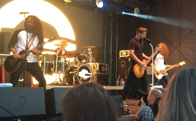 Gain Eleven på Arvika Hamnfest 2016. Foto: David Fryxelius.