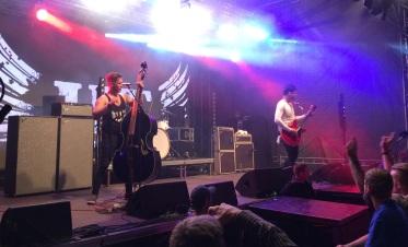 John Lindberg Trio på Arvika Hamnfest 2016. Foto: David Fryxelius.