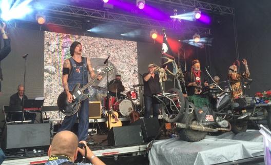 Packmopedsturnén på Arvika Hamnfest 2016. Foto: David Fryxelius.
