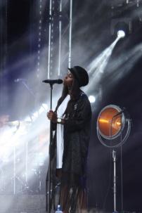 Sabina Ddumba på Arvika Hamnfest 2016. Foto: Anna-Karin Fryxelius.