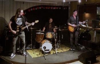 Fredrik Uvefalk Trio på Wilmas. Foto: David Fryxelius.