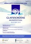 Affisch Glafsfjordens musikfestival 2017.