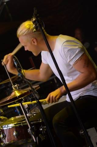 Hannes Liljedahl i Gain Eleven på Emergenza Festival i Tyskland. Foto: Lorenzo Desiati.