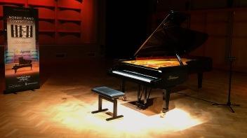 Flygel på Nordic Piano Competition 2017. Foto: David Fryxelius.