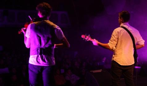 Smygfoto från scenen. Foto: David Fryxelius.