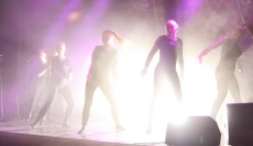 Dansnummer under Central Show. Foto: David Fryxelius.
