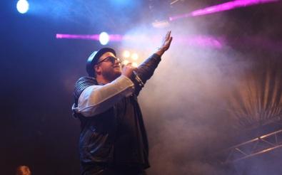 Freddy Kalas på Arvika Hamnfest 2017. Foto: David Fryxelius.
