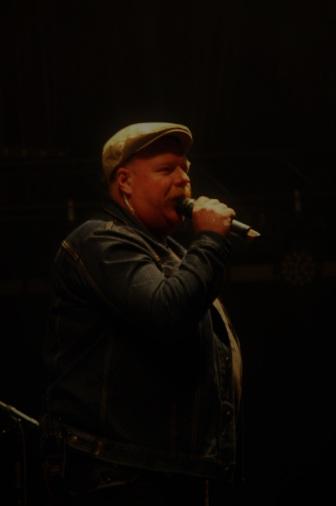 Fredrick Berntsson, bokningsansvarig på Arvika Hamnfest. Foto: David Fryxelius.