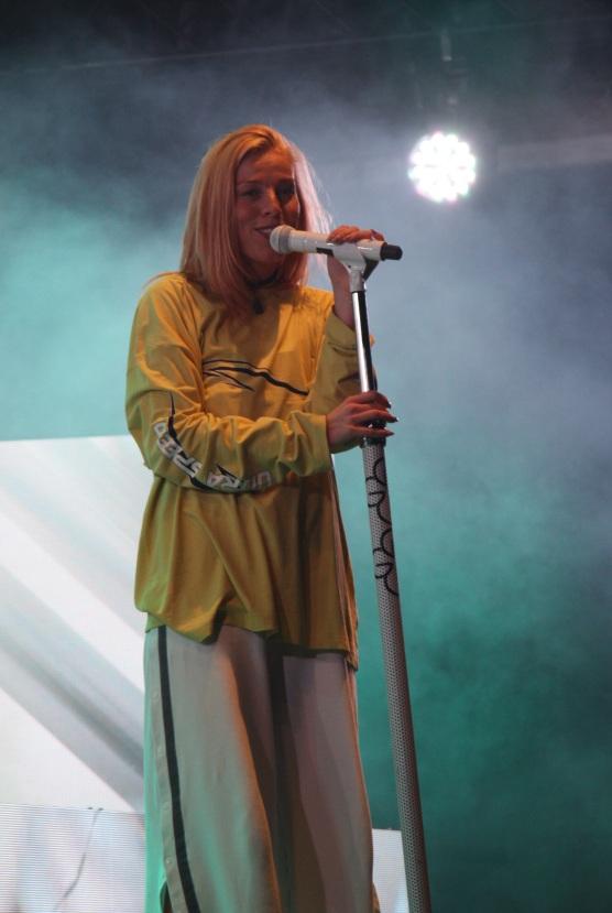 Gabrielle på Arvika Hamnfest 2017. Foto: David Fryxelius.
