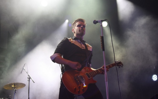 David Flognman i Gain Eleven på Arvika Hamnfest 2017. Foto: David Fryxelius.