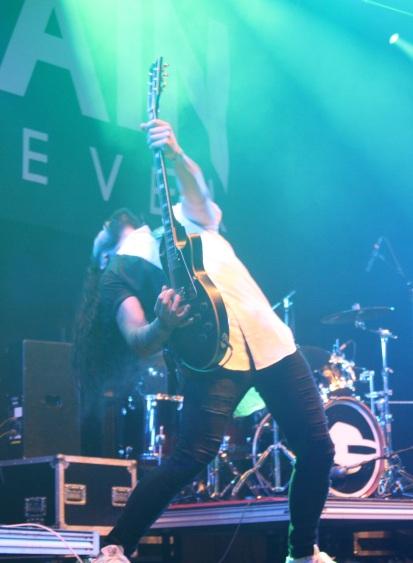 Vidar Solli i Gain Eleven på Arvika Hamnfest 2017. Foto: David Fryxelius.