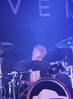 Hannes Liljedahl i Gain Eleven på Arvika Hamnfest 2017. Foto: David Fryxelius.