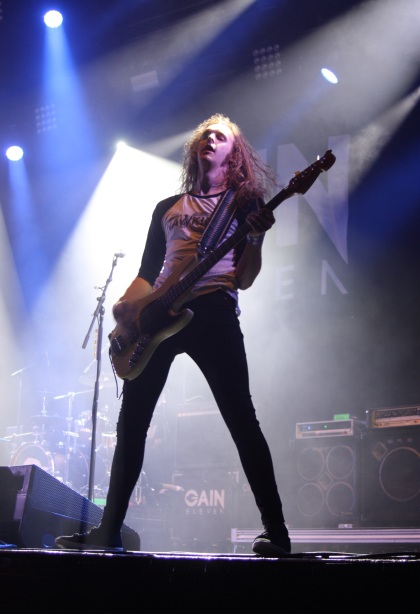 Martin Andersson i Gain Eleven på Arvika Hamnfest 2017. Foto: David Fryxelius.