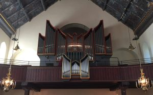 Orgeln i Trefaldighetskyrkan i Arvika. Foto: David Fryxelius.