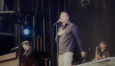 Magnus Carlsson på Arvika Hamnfest 2017. Foto: David Fryxelius.