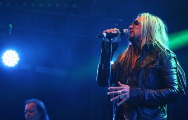 Jacob Samuel i Rock The Night på Arvika Hamnfest 2017. Foto: David Fryxelius.