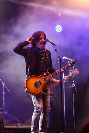 Kee Marcello i Rock The Night på Arvika Hamnfest 2017. Foto: David Fryxelius.