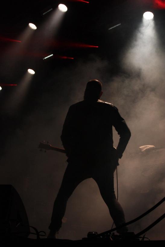 Satan Takes A Holiday på Arvika Hamnfest 2017. Foto: David Fryxelius.