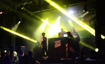 Topaz Soundsystem på Arvika Hamnfest 2017. Foto: David Fryxelius.
