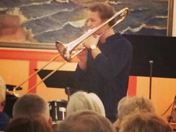 Simon Henriksson, Arvika konsertförenings stipendiat 2016. Foto: David Fryxelius.