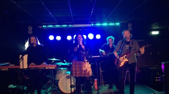 Granny K på premiärkvällen av Arvika Live på Kvarteret i Arvika. Foto: David Fryxelius.