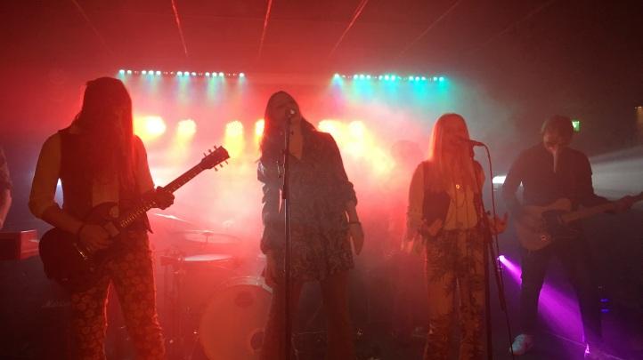 Nephila på premiärkvällen av Arvika Live på Kvarteret i Arvika. Foto: David Fryxelius.