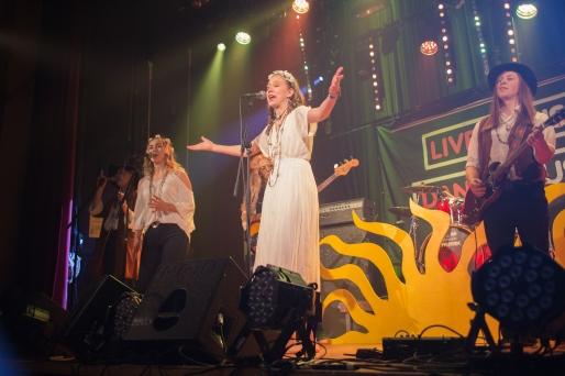 Children Of The Sün på distriktsfinalen av Livekarusellen i Örebro. Foto: Lucas Persson.