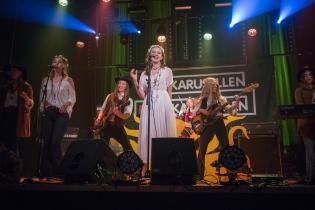 Children Of The Sün på distriktsfinalen av Livekarusellen. Foto: Lucas Persson.