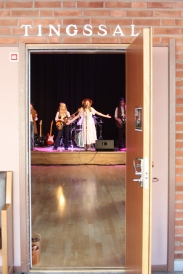 Children Of The Sün gör scenrep på Thingshuset. Foto: David Fryxelius.