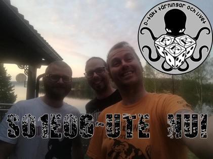 D-takt, tärningar och livet. Från vänster: David Fryxelius, Niklas Nord, Björn Lindström. Foto: Björn Lindström.