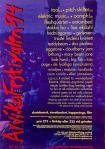 Affisch Arvikafestivalen 1994.