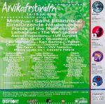 Affisch Arvikafestivalen 2000.