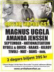 Affisch Arvika Hamnfest 2008.
