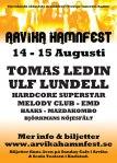 Affisch Arvika Hamnfest 2009.