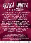 Affisch Arvika Hamnfest 2016.