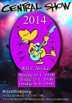 Affisch Central show 2014.