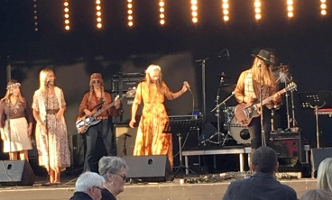 Children Of The Sün på insamlingsgalan Rock & Blues för MS 2018. Foto: David Fryxelius.