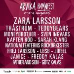 Affisch Arvika Hamnfest 2018.