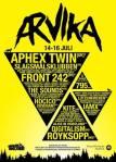 Affisch Arvikafestivalen 2011.
