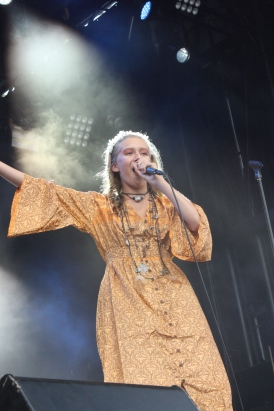 Children Of The Sün på Arvika Hamnfest 2018. Foto: David Fryxelius.