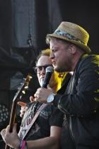 Freddy Kalas på Arvika Hamnfest 2018. Foto: David Fryxelius.