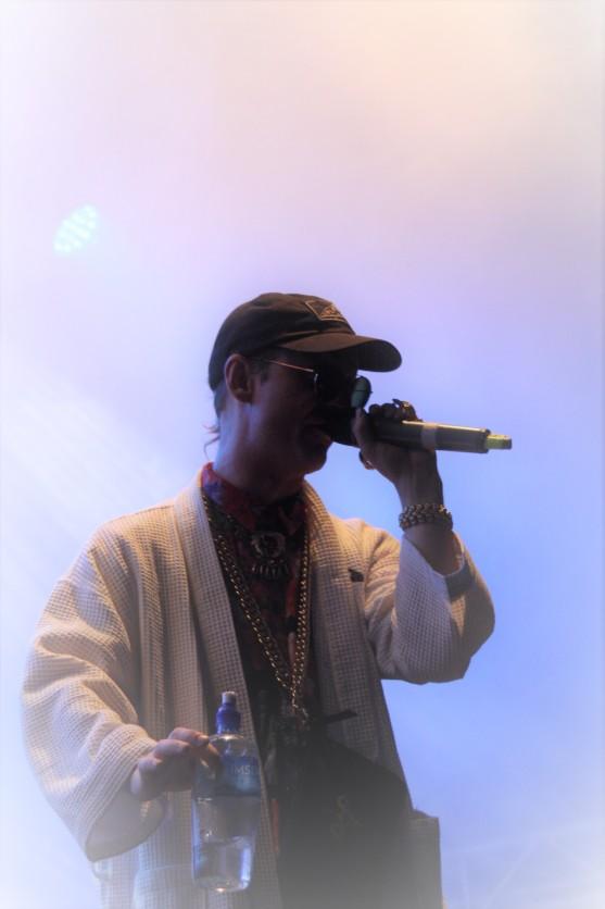 Frej Larsson på Arvika Hamnfest 2018. Foto: David Fryxelius.