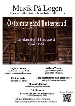 Affisch Musik på logen 2018.