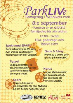 Affisch Parkliv(e) - dag.
