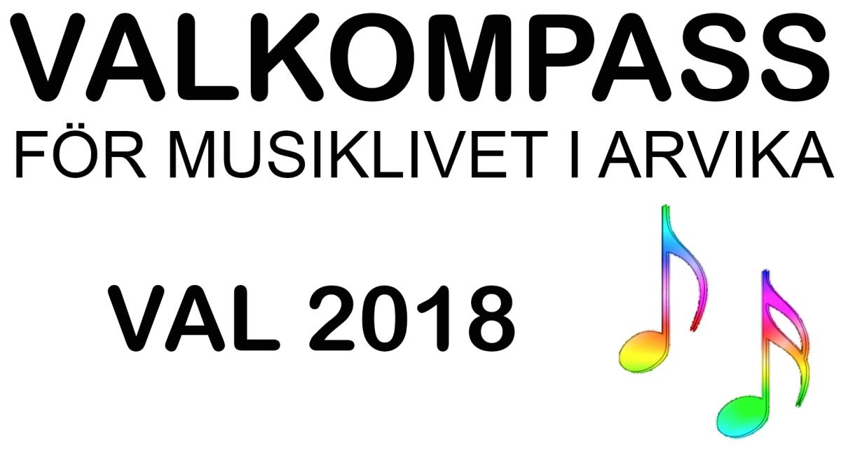 Valkompass 2018 för musiklivet i Arvika
