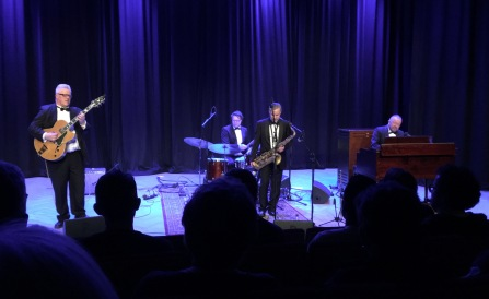 The Real Thing spelar på Musikhögskolan Ingesund. Foto: David Fryxelius.
