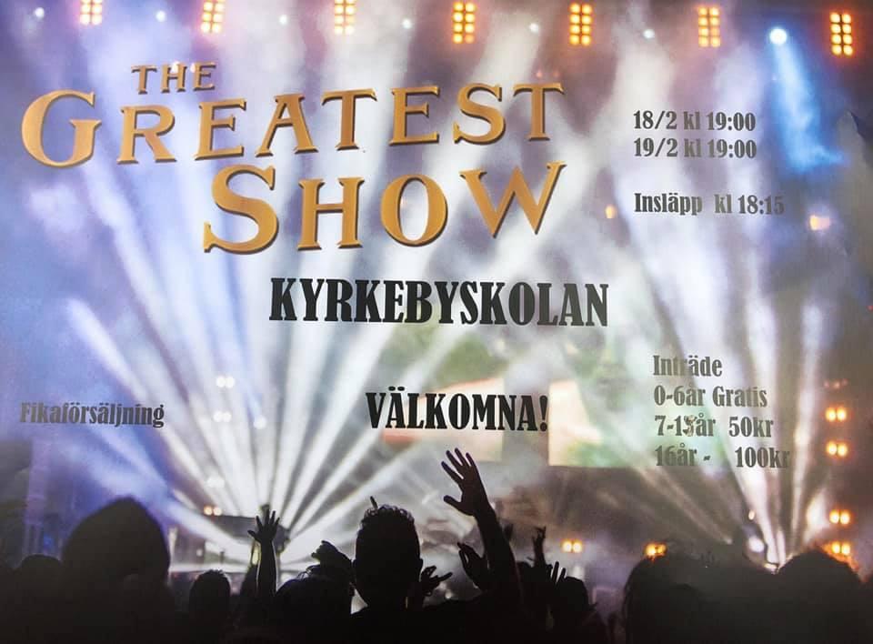 Affisch Kyrkebyshowen 2019.