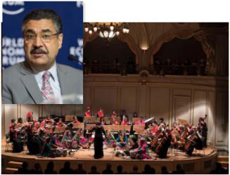 Dr Ahmad Sarmast & Zohra Orchestra. Foto: Arvika konsertförening.