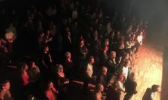 Publik vid stora scenen på invigningen av Ritz 2019. Foto: David Fryxelius.