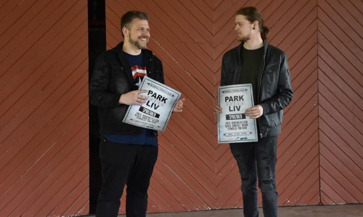 Daniel Dijkstra och Theo Bäckström. Foto: David Fryxelius.